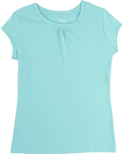 French Toast Girls' Short Sleeve Crew Neck T-Shirt