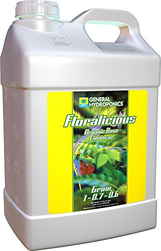 General Hydroponics GH1374 Floralicious Grow Solution, 2....