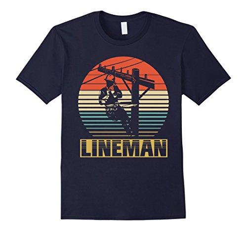 Mens Vintage Shirt For Lineman. Gift For Who Love Lineman XL - Lineman Shirts