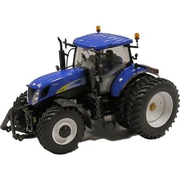 New Holland T7050 Cultivo en Hileras trasero de doble rueda del tractor: Amazon.es: Juguetes y juegos
