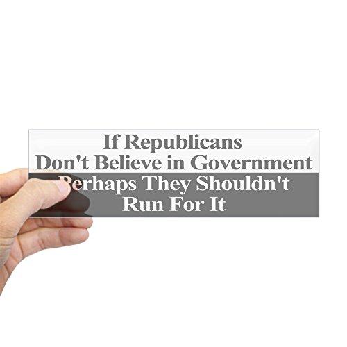 Republican Anti Stickers - CafePress Anti-Republican Bumper Sticker 10