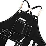Jeanerlor Work Apron Durable Tool Aprons for Women