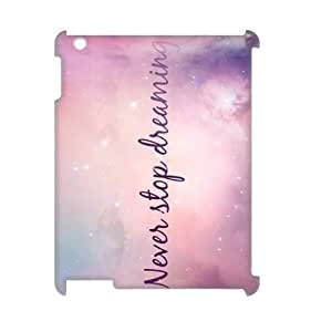 Galaxy Purple Personalized 3D Cover Case for Ipad2,3,4,customized phone case ygtg597590 by lolosakes