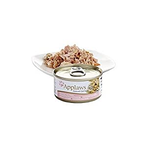 Tuna and Prawn Cat Food Tin by Applaws (70g) (Pack of 4) 70%OFF