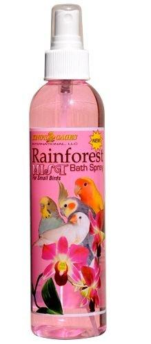 KINGS CAGES Rainforest Mist Bath Spray for SMALL BIRD parrot