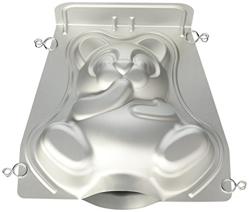 Wilton Stand-Up Cuddly Bear Pan Set (Teddy Bear Cake Pan compare prices)