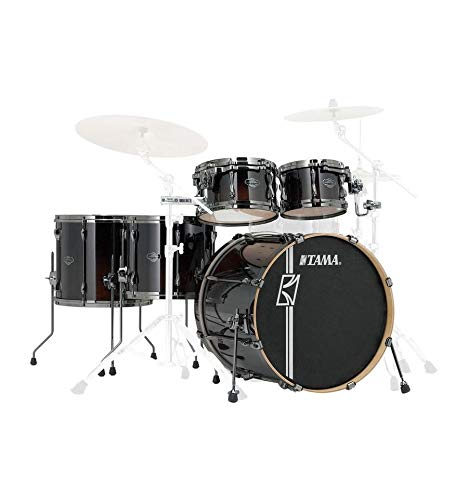 Tama ML52HLZBN DMF Superstar Hyper Drive Maple Drum Kit 5 Piece Drum Set,...