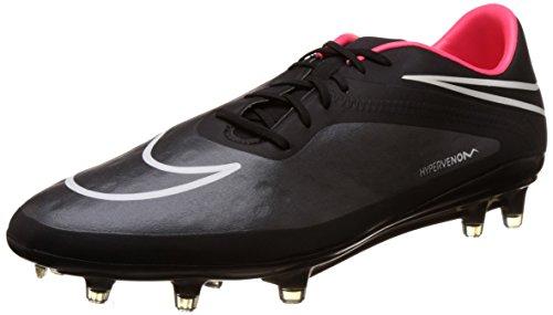 Nike Mens Hypervenom Phatal Fg Bitta Da Calcio Nero / Hyper Punch / Bianco