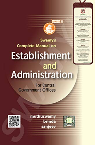 Swamy's Complete Manual on Establishment and Administration
