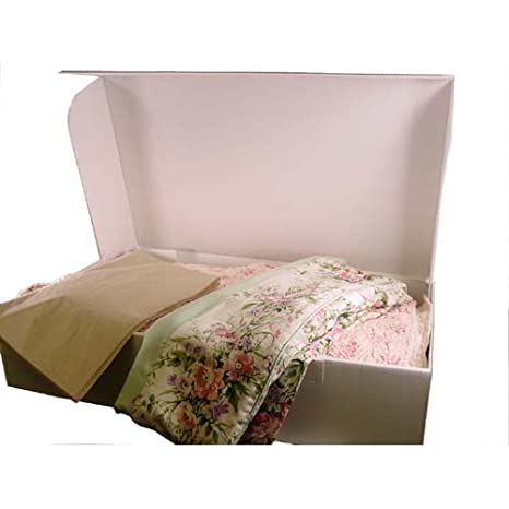 Amazon.com: Caja de almacenamiento Xl para ropa, edredones ...