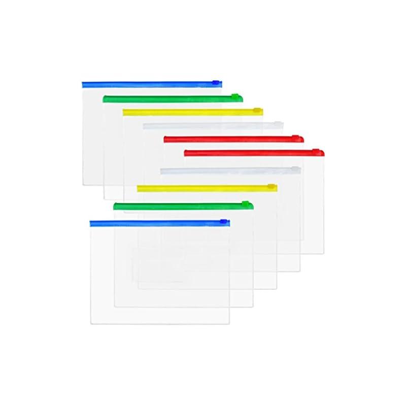 baotongle-50-pcs-clear-color-zip