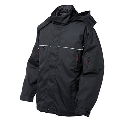 Tough Duck Poly Oxford 3-in-1 Parka, Black