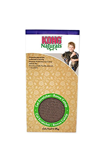 KONG Naturals Double Scratcher Cat Toy (Refill Scratcher)