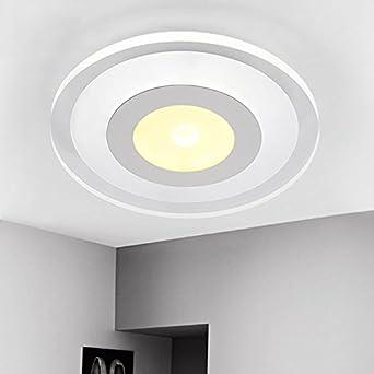 Led Wandbeleuchtung Kreative große Wohnzimmer Lampe Ultra-Thin Warm ...