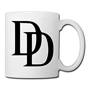 Christina Daredevil Logo Ceramic Coffee Mug Tea Cup White