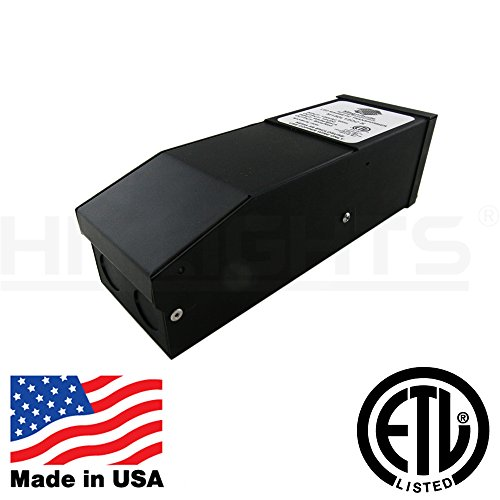 300 Watt Dimmable Driver, Magnetic, for LED Light Strips - 110V AC-12V DC Transformer. Made in the USA. Compatible with Lutron and Leviton by HitLights