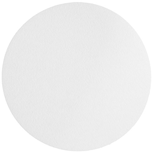 Whatman 1004-320 Quantitative Filter Paper Circles, 20-25 Micron, 3.7 s/100mL/sq inch Flow Rate, Grade 4, 320mm Diameter (Pack of 100) by Whatman