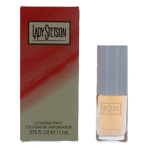 LADY STETSON by Coty for WOMEN: COLOGNE SPRAY .375 OZ MINI (note* minis approximately 1-2 inches in height)