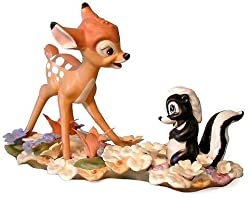 WDCC Figurines: Bambi: He Can Call Me a Flower If He Wants...