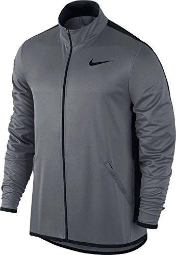 Mens Nike Jacket Epic Knit (Medium, Cool Grey/Black)