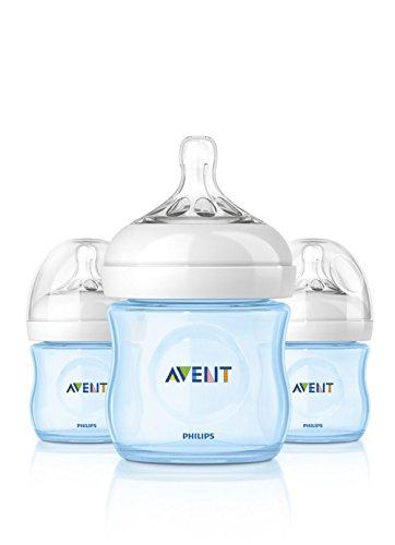 Philips AVENT Natural Bottle Set 3PK - 4oz - Avent Natural Bottles