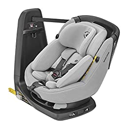 Maxi-Cosi AxissFix Plus Convertible Car Seat, Swivel Car Seat, Suitable From Birth, 0 Months-4 Years, 45-105 cm, Authentic Grey
