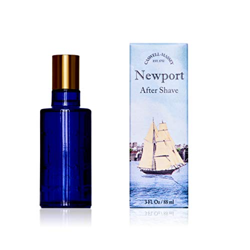 (Caswell-Massey Newport After Shave - Soothing Aftershave Infused With Scents of Sandalwood, Citrus, and Cedar Made In USA, 3 Ounces)