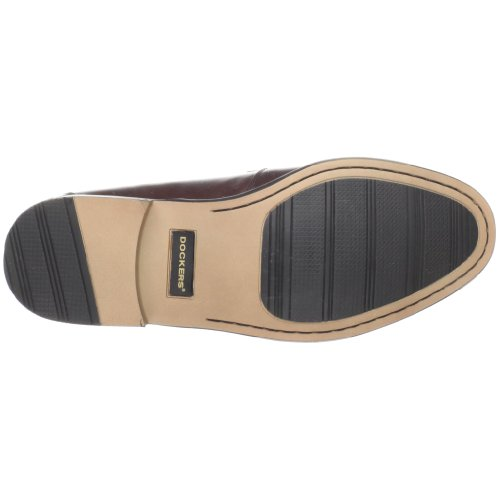 Dockers Lyon Hommes Marron Cuir Chaussures Mocassins Pointure EU 45