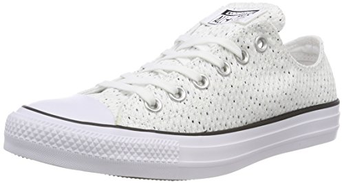 Converse Ctas Ox White/Glacier Grey/Black, Sneaker Unisex – Adulto Bianco (White/Glacier Grey/Black)