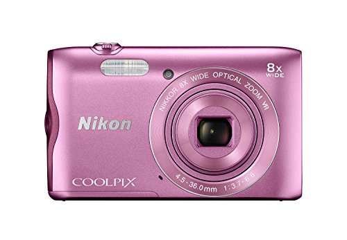 Nikon Coolpix 300 20MP Digital Camera (Pink) International Model No Warranty