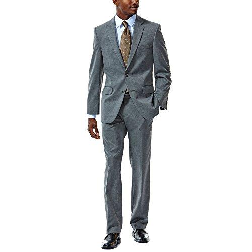 Haggar HZ70131 Men's Suit Separates Jacket, Dark Grey - 50-R (Haggar Suit Separates)