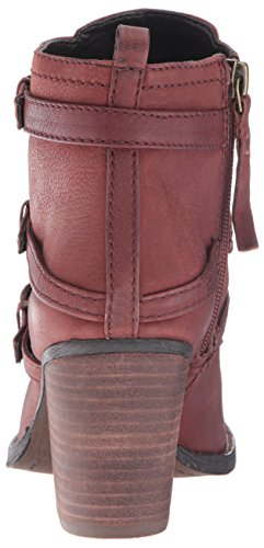 Nine West Frauen FITZ Geschlossener Zeh Leder Fashion Stiefel Brown