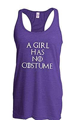 Artix This Girl Has No Costume Halloween People Best Friend Gift Couples Gifts Women Racerback Tank Clothes