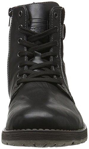Rieker 33332, Botines para Hombre Negro (schwarz/schwarz/schwarz/fumo / 00)