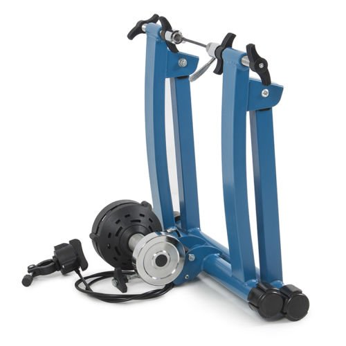 Eight24hours Indoor Mountain/Road Bike Magnetic Resistance Trainer 7 Levels Exercise Machine