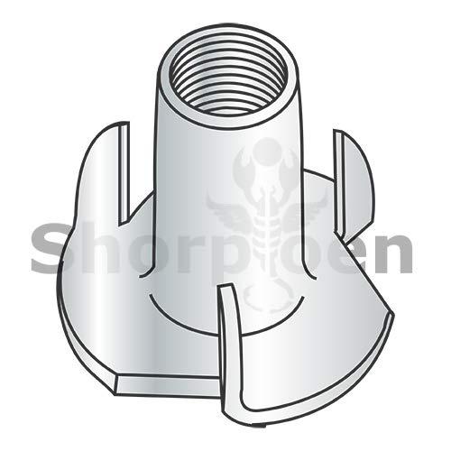 SHORPIOEN 3 Prong Tee Nut Zinc 10-24 x 1/4 BC-1004NT3 (Box of 2000)
