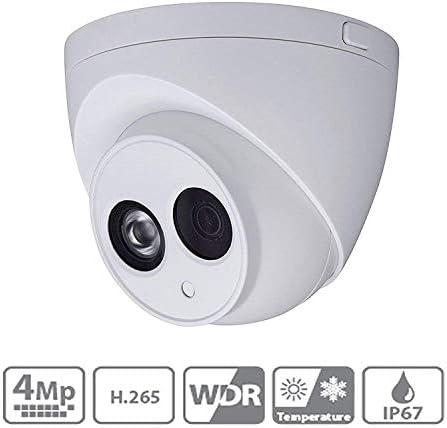 Dahua 4MP POE Eyeball Network Camera IPC-HDW4433C-A 2.8mm H265 Built-in Mic Dome Security IP Camera IP67 Outdoor ONVIF International Version