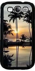 Funda para Samsung Galaxy S3 (GT-I9300) - Viajes De Vacaciones Palma De La Puesta Del Sol by WonderfulDreamPicture
