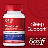 Best Melatonins - Schiff Melatonin Ultra. 365 Tablets. 3mg Melatonin + Review