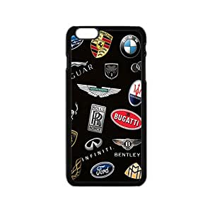 SANLSI Famous car sign fashion cell phone case for iPhone 6