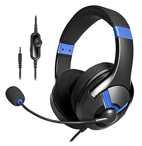 AmazonBasics Gaming Headset - Black And Blue
