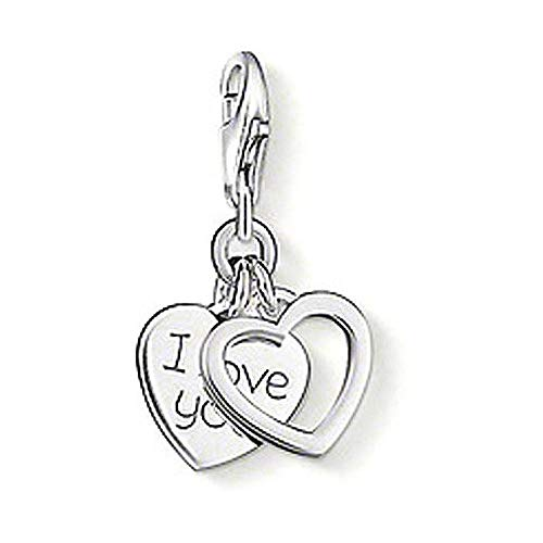 (Thomas Sabo Pendant I Love You Hearts Clasp Style Charms)