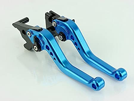 CNC lever short Yamaha MT-125 2015-2016 Blue