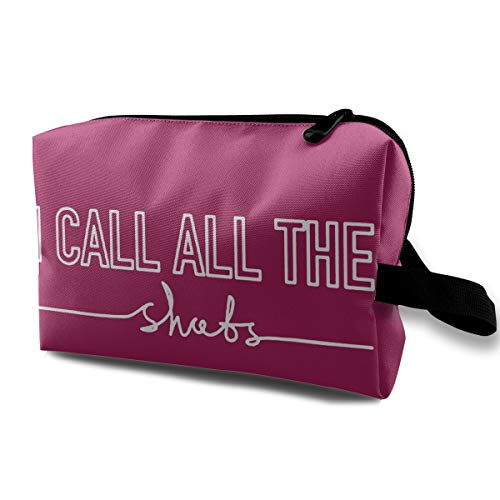 Qbao Nursing Doctor Medical I Call All The Shots Unisex Travel Cosmetic Bag Portable Makeup Case & Organizer Toiletry Pouch]()
