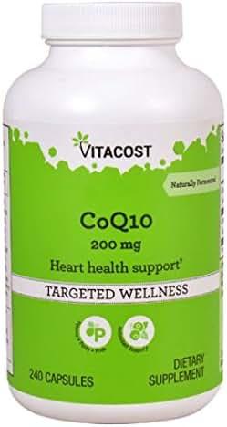 Vitacost CoQ10-200 mg - 240 Capsules