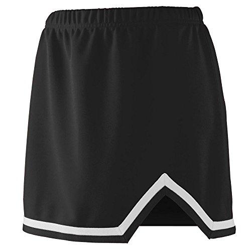 Augusta Sportswear Girls' Energy Skirt XS Black/White