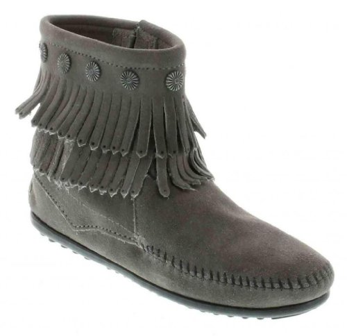 Side Zip Fashion Boots - 9
