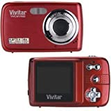 Vivitar ViviCam V7022 Digital Camera (Strawberry)