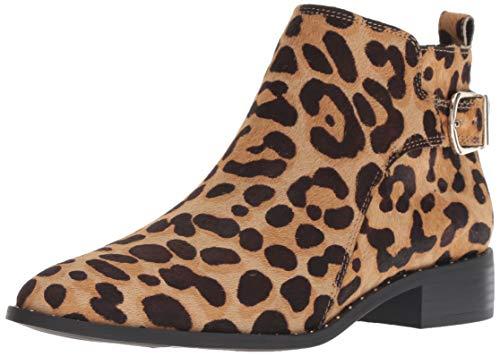 (STEVEN by Steve Madden Women's Chavi-L Ankle Boot, Leopard, 6.5 M US)