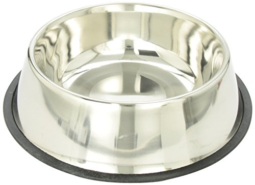 Ethical 160-Ounce No-Tip Stainless Dish - Ethical Dog Stainless Steel